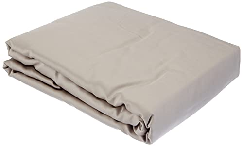 Amazon Basics Fitted Sheet, Gris, 180 x 200 x 30 cm