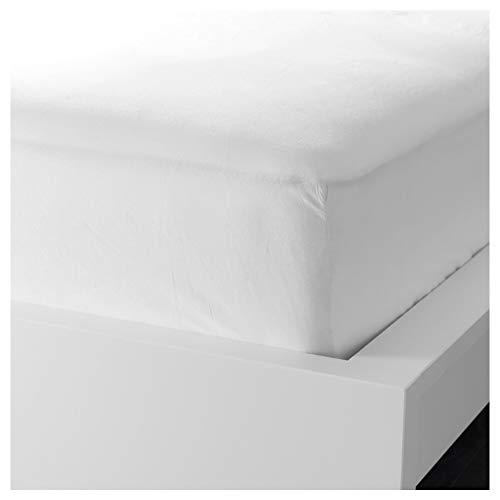IKEA ASIA FARGMARA - Sábana Bajera Ajustable, Color Blanco