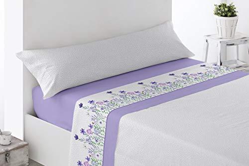 BENEDETTAHOME Juego de sábanas Estampadas coralina Invierno, 100% poliéster, con Tacto Suave y Agradable....