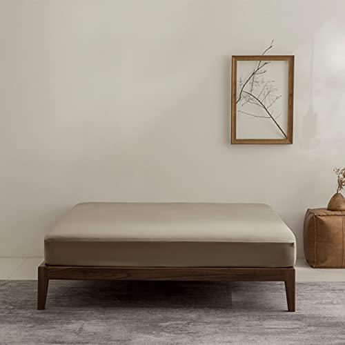 HAIBA Cama doble con sábanas de ajuste profundo, sábanas suaves y frescas y refrescantes, sábanas de cama...