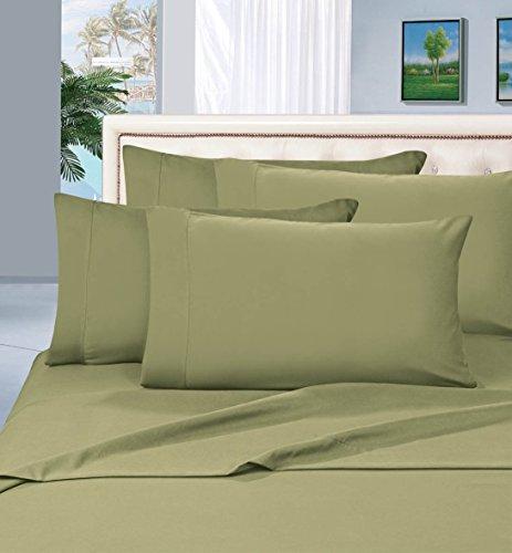 Elegant Comfort Lujoso juego de sábanas, 6 piezas, algodón egipcio de calidad, 1500hilos, resistente a las...