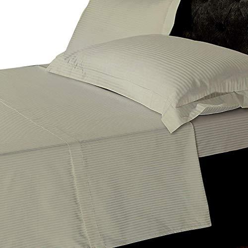 Lino zona 800hilos 100% puro algodón egipcio Natural T800profundo sábana bajera ajustable, calidad de...