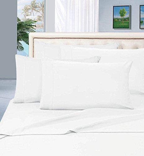 Elegancia y Confort 1500Hilos Egipcio Calidad 6Piezas Resistente a Las Arrugas Lujoso Juego de sábanas,...
