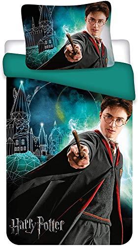 Harry Potter - Juego de ropa de cama, diseño de Harry Potter
